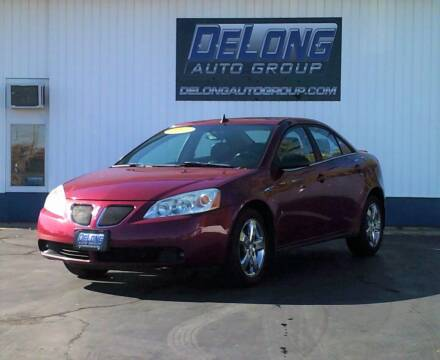 2009 Pontiac G6 for sale at DeLong Auto Group in Tipton IN