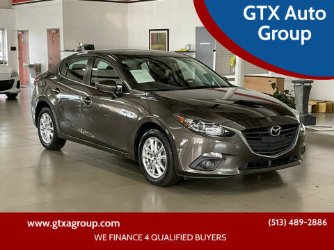 2015 Mazda MAZDA3 for sale at GTX Auto Group in West Chester OH