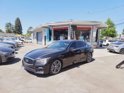 2017 Infiniti Q50 for sale at Imports Auto Sales & Service in San Leandro CA