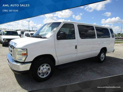 2008 Ford E-Series Wagon for sale at AML AUTO SALES - Passenger Vans in Opa-Locka FL