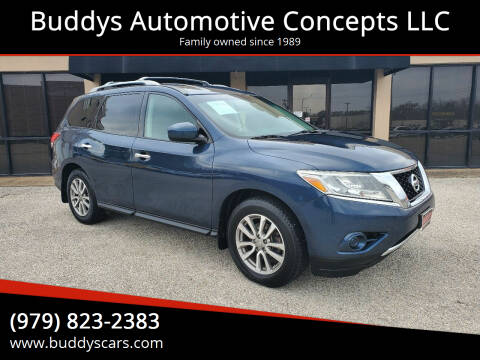 2014 Nissan Pathfinder for sale at Buddys Automotive Concepts LLC in Bryan TX