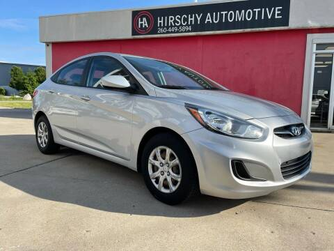 2013 Hyundai Accent for sale at Hirschy Automotive in Fort Wayne IN