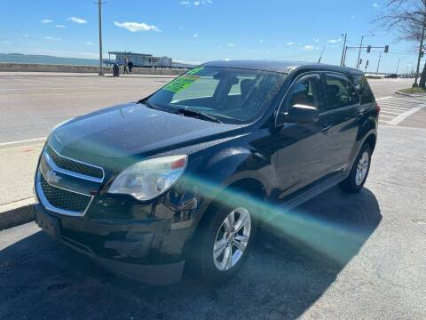 2012 Chevrolet Equinox for sale at Quincy Shore Automotive in Quincy MA