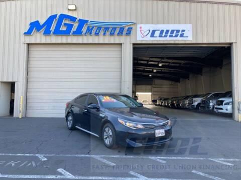 2018 Kia Optima Hybrid for sale at MGI Motors in Sacramento CA