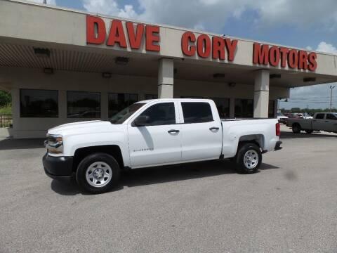 2018 Chevrolet Silverado 1500 for sale at DAVE CORY MOTORS in Houston TX