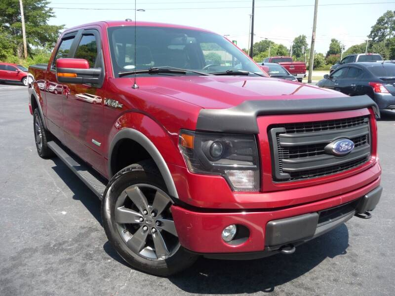 2014 Ford F-150 for sale at Wade Hampton Auto Mart in Greer SC