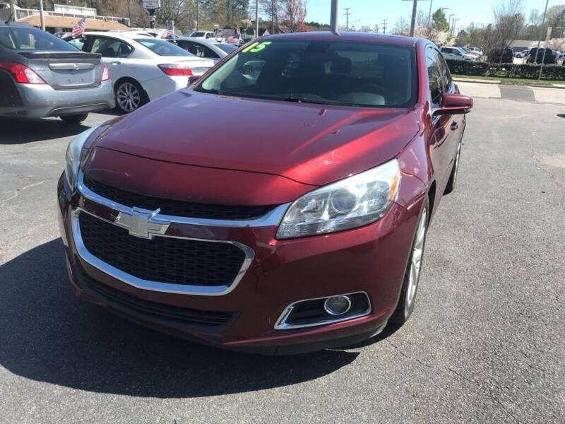 2015 Chevrolet Malibu for sale at Dad's Auto Sales in Newport News VA