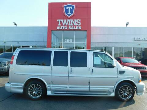 2012 GMC Savana Cargo for sale at Twins Auto Sales Inc Redford 1 in Redford MI