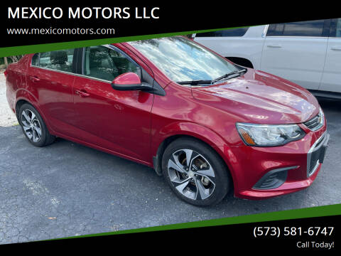 2017 Chevrolet Sonic for sale at MEXICO MOTORS LLC in Mexico MO