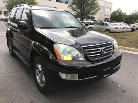 2008 Lexus GX 470 for sale at Dotcom Auto in Chantilly VA