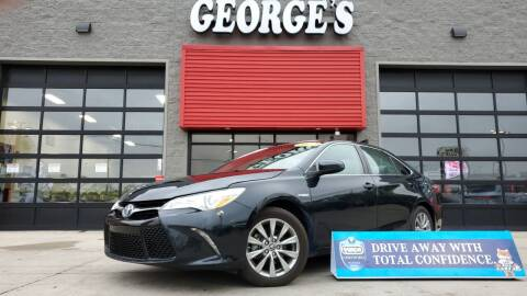 2017 Toyota Camry Hybrid for sale at George's Used Cars - Pennsylvania & Allen in Brownstown MI