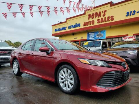 2020 Toyota Camry for sale at Popas Auto Sales in Detroit MI