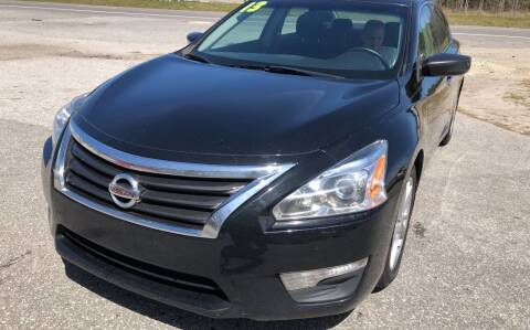 2013 Nissan Altima for sale at County Line Car Sales Inc. in Delco NC