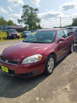 2010 Chevrolet Impala for sale at Jeff's Sales & Service in Presque Isle ME
