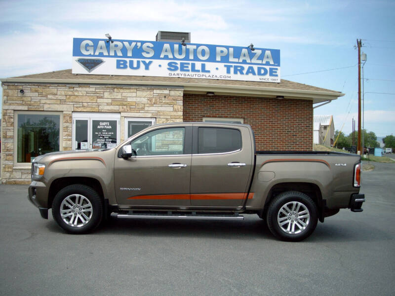 2016 GMC Canyon for sale at GARY'S AUTO PLAZA in Helena MT