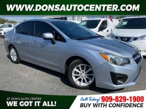 2013 Subaru Impreza for sale at Dons Auto Center in Fontana CA