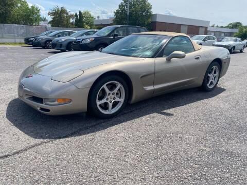2001 Chevrolet Corvette for sale at Riverside Auto Sales & Service in Portland ME