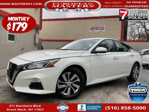 2019 Nissan Altima for sale at European Masters in Great Neck NY