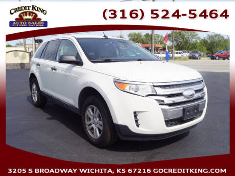 2012 Ford Edge for sale at Credit King Auto Sales in Wichita KS