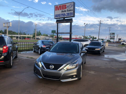 2017 Nissan Altima for sale at MB Auto Sales in Oklahoma City OK