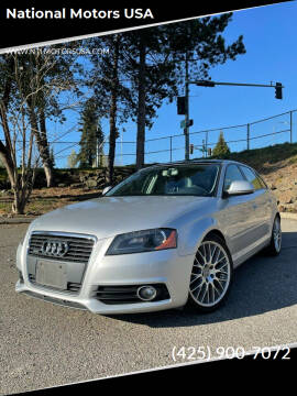 2010 Audi A3 for sale at National Motors USA in Federal Way WA