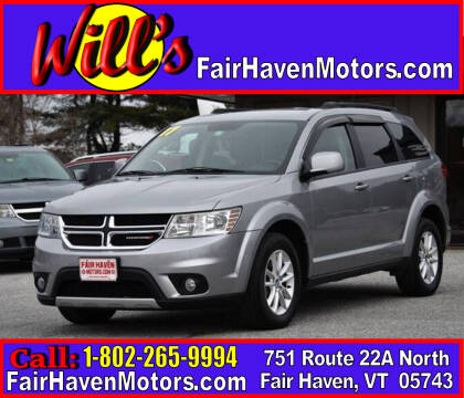 2017 Dodge Journey for sale at Will's Fair Haven Motors in Fair Haven VT