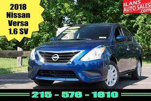 2018 Nissan Versa for sale at Ilan's Auto Sales in Glenside PA