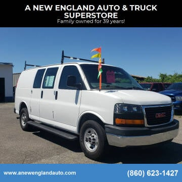 2015 GMC Savana Cargo for sale at A NEW ENGLAND AUTO & TRUCK SUPERSTORE in East Windsor CT