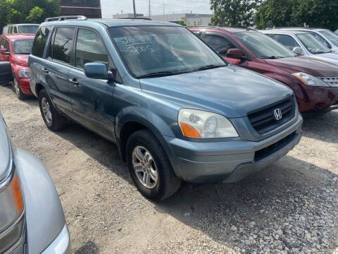 2005 Honda Pilot for sale at Philadelphia Public Auto Auction in Philadelphia PA