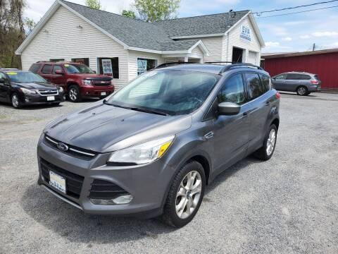 2013 Ford Escape for sale at Evia Auto Sales Inc. in Glens Falls NY