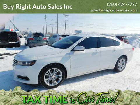 2014 Chevrolet Impala for sale at Buy Right Auto Sales Inc in Fort Wayne IN