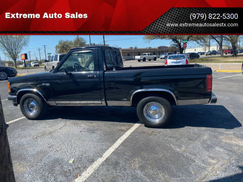 1990 Ford Ranger for sale at Extreme Auto Sales in Bryan TX