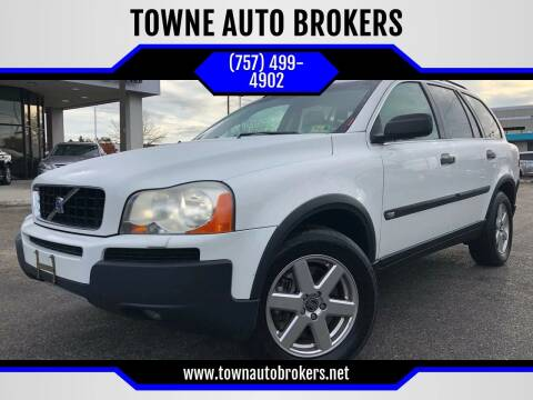 2005 Volvo XC90 for sale at TOWNE AUTO BROKERS in Virginia Beach VA