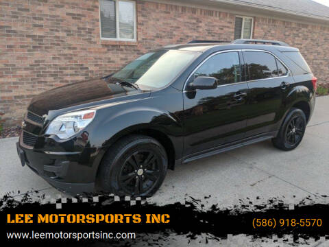 2014 Chevrolet Equinox for sale at LEE MOTORSPORTS INC in Mount Clemens MI