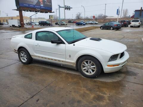 2008 Ford Mustang for sale at GOOD NEWS AUTO SALES in Fargo ND