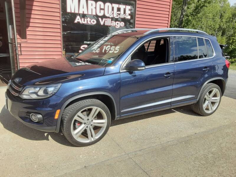 2014 Volkswagen Tiguan for sale at Marcotte & Sons Auto Village in North Ferrisburgh VT