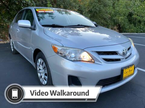 2012 Toyota Corolla for sale at Car Deal Auto Sales in Sacramento CA
