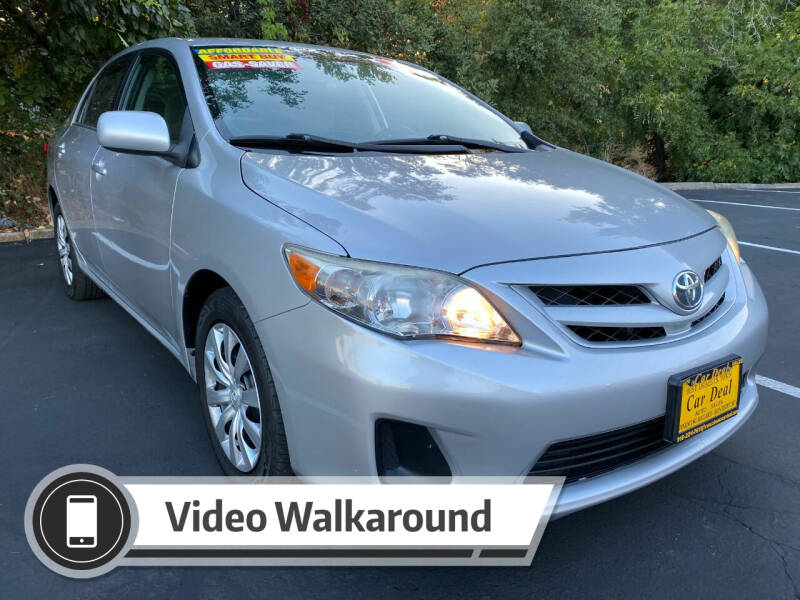 2012 Toyota Corolla for sale at Car Deal Auto Sales in Sacramento CA
