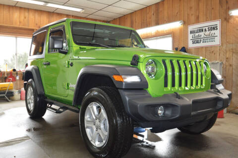 2019 Jeep Wrangler for sale at Hollern & Sons Auto Sales in Johnstown PA