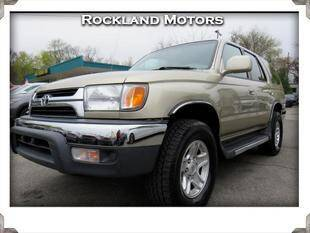 2001 Toyota 4Runner for sale at Rockland Automall - Rockland Motors in West Nyack NY