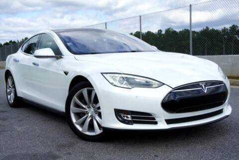 2013 Tesla Model S for sale at CU Carfinders in Norcross GA