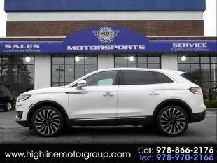 2019 Lincoln Nautilus for sale at Highline Group Motorsports in Lowell MA