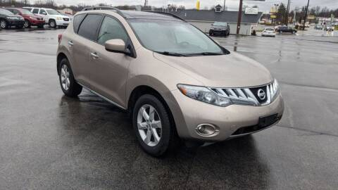2009 Nissan Murano for sale at Newport Auto Group in Austintown OH
