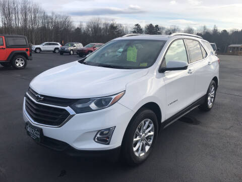 2018 Chevrolet Equinox for sale at Greg's Auto Sales in Searsport ME