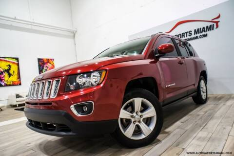2015 Jeep Compass for sale at AUTO IMPORTS MIAMI in Fort Lauderdale FL