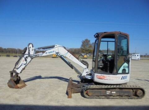 2005 Bobcat 430 ZHS excavator for sale at Vehicle Network - Dick Smith Equipment in Goldsboro NC