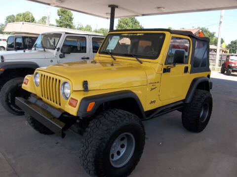 2001 Jeep Wrangler for sale at Broken Arrow Motor Co in Broken Arrow OK