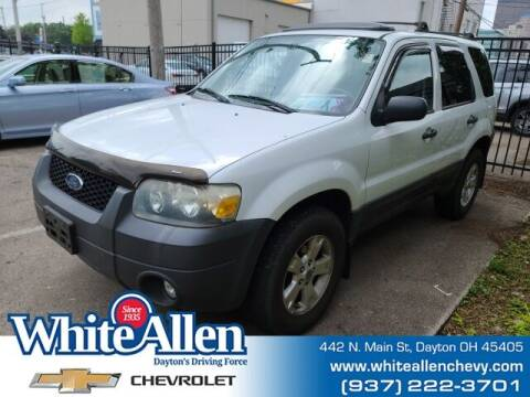 2007 Ford Escape for sale at WHITE-ALLEN CHEVROLET in Dayton OH