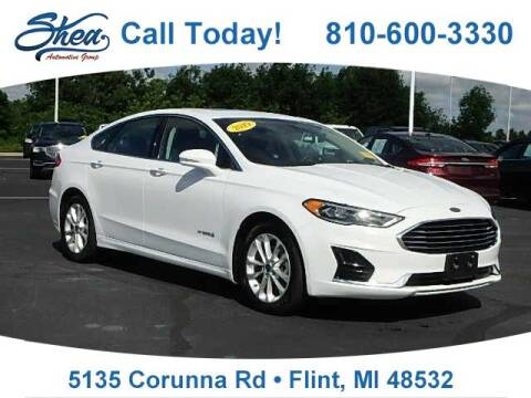 2019 Ford Fusion Hybrid for sale at Jamie Sells Cars 810 in Flint MI
