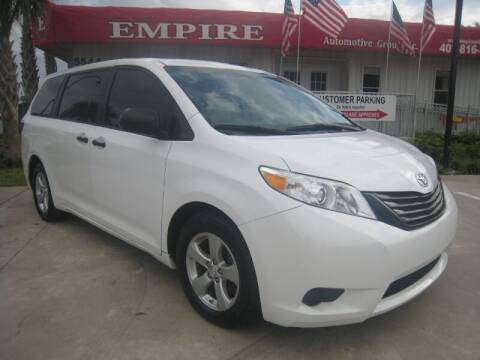 2016 Toyota Sienna for sale at Empire Automotive Group Inc. in Orlando FL